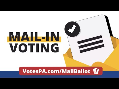 Introducing PA voters to the new option of voting, mail-in voting.