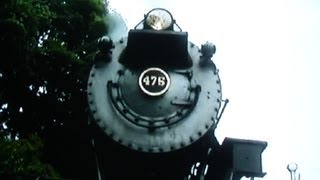 Steam Engine Runs Over Camera