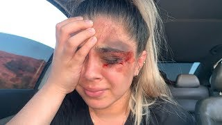 I GOT BEAT UP PRANK ON BOYFRIEND!!
