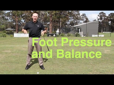 Foot Pressure and Balance