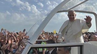 """Caserta - Papa Francesco: """"Dite no a corruzione e illegalità"""" (26.07.14)"""