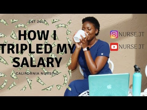 How I Tripled My RN Salary