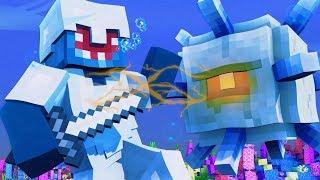 FIRST BOSS FIGHT!! - Minecraft Aquatic Adventure! #13