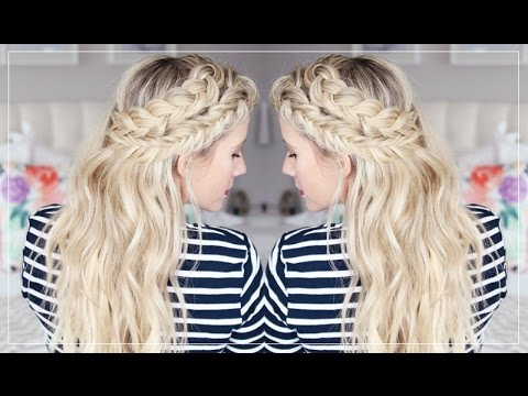 HOW TO: Keep Exentensions From Showing And A Mixed Braids Tutorial