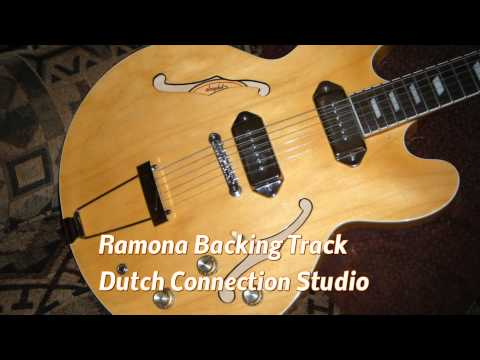 Ramona Backing Track original : by The Blue Diamonds