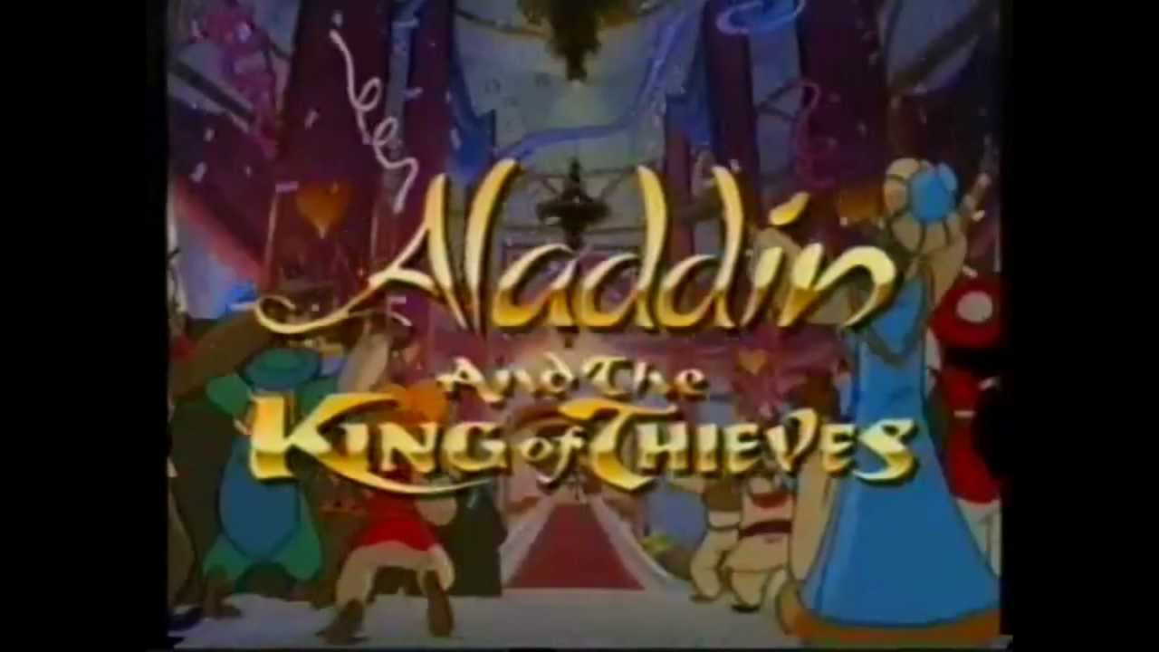 Aladdin Trailer: Aladdin & The King Of Thieves UK VHS Trailer (Origanal VHS