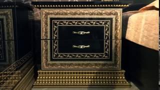 Спальня Николь - современная классика. Давайте знакомиться?(Чёрный и золото, элегантность и классика, блеск и драма, вечерний выход и роскошь - это самое меньшее, что..., 2016-05-16T06:41:04.000Z)