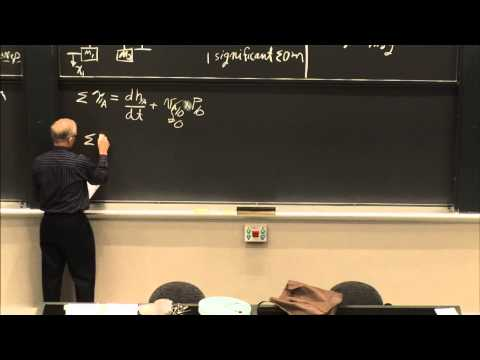 10. Equations of Motion, Torque, Angular Momentum of Rigid B