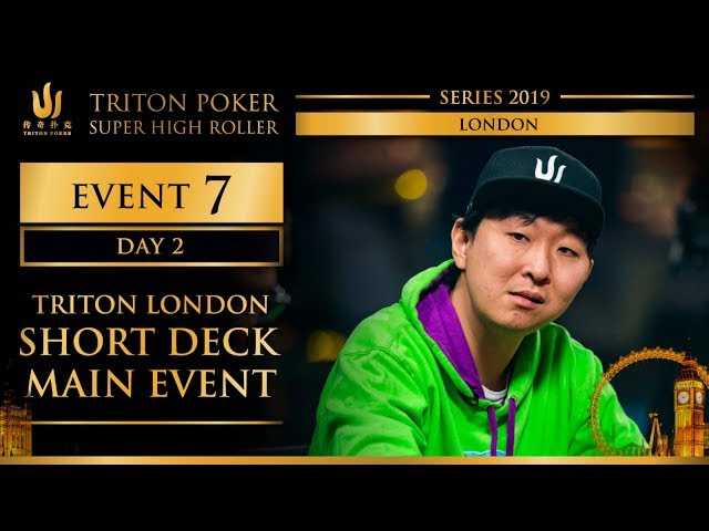 Triton London 2019 - Triton London SD Main Event £100K - Day 2