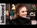 Capture de la vidéo Daya Post-Grammy Win For The Chainsmokers 'don't Let Me Down' On The Red Carpet | Billboard