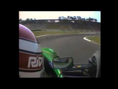 Nelson Piquet Onboard Hockenheimring F1 GP, 1990