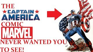 THE SJW CAPTAIN AMERICA COMIC MARVEL NEVER WANTED YOU TO SEE!