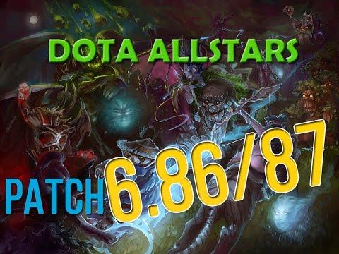 Update | Dota allstarS 6.86/6.87 (part 2)