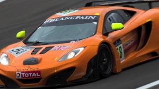 McLaren MP4-12C GT3 at 24 Hours of Spa 2011 Videos