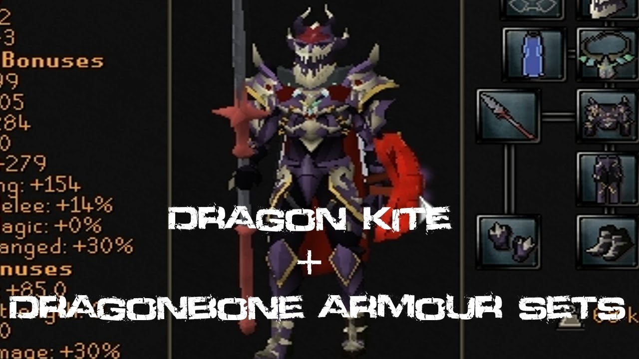 Dragon Kiteshield Stats New Dragonbone Kit Armour Looks Fishy
