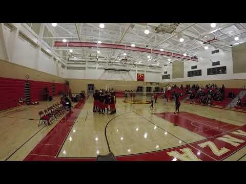 De Anza High School vs. Saint Patrick Saint Vincent - Volleyball - Set 3