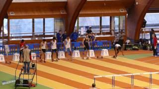 60m Haies – Finale A – JUM – Championnat Régionaux Indoor 15/01/2017 – INSEP