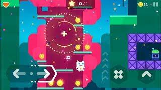 Super Phantom Cat 2 (by Veewo Games) - platform game for android - gameplay.