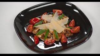 Карпаччо из шампиньонов | 7 нот вегетарианской кухни(Готовим карпаччо из шампиньонов: ингредиенты, способ приготовления, пошаговый рецепт: http://www.tveda.ru/recepty/karpachcho..., 2012-12-26T13:13:48.000Z)