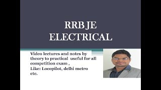 Rrb je 2017 electrical top questions 2017 Video