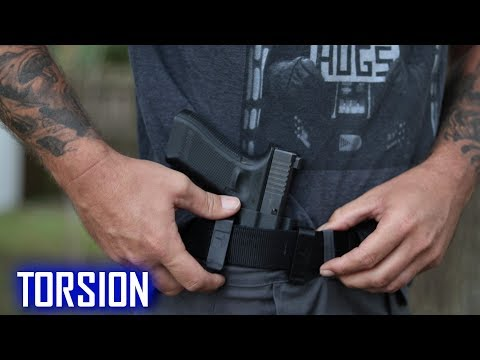 BRAVO CONCEALMENT TORSION IWB HOLSTER // BEST Glock 17 iwb holster!