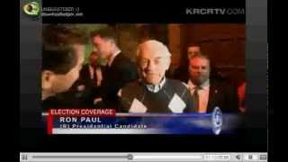 6000+ Ron Paul Supporters 4-3-12 NEWS Chico California