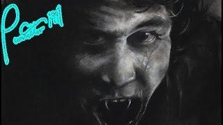 Speed Drawing of Dracula - Vampire