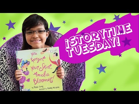 IT´S STORYTIME EP. 2: YOU FORGOT YOUR SKIRT AMELIA BLOOMER