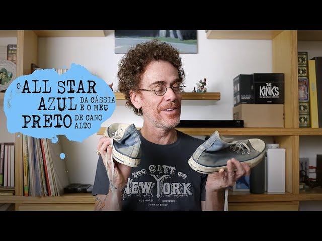 2949a6413271a Nando Reis mostra o All Star e cartas para Cássia Eller