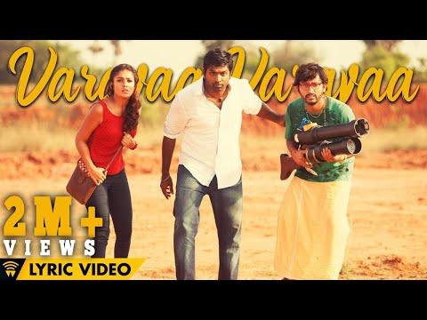 Naanum Rowdy Dhaan - Varavaa Varavaa | Lyric Video | Anirudh | Anirudh, Vignesh Shivan