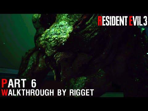 """Resident Evil 3 Remake Прохождение Часть 6 """"Госпиталь"""""""