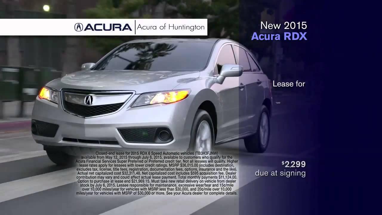 New RDX Acura Of Huntington Long Island NY Dealer YouTube - Acura dealers on long island