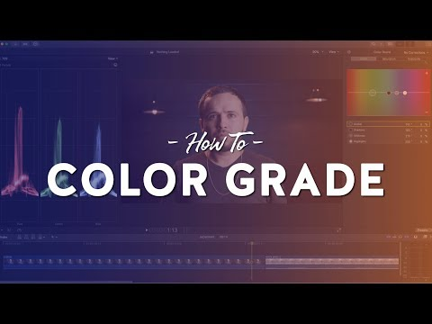 My Color Grading/Correction Process