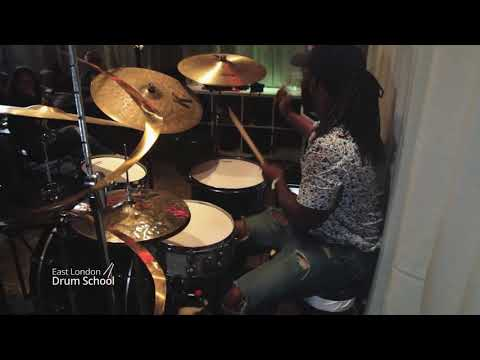 Dexter Hercules Performing At East London Drum School (Track 2)