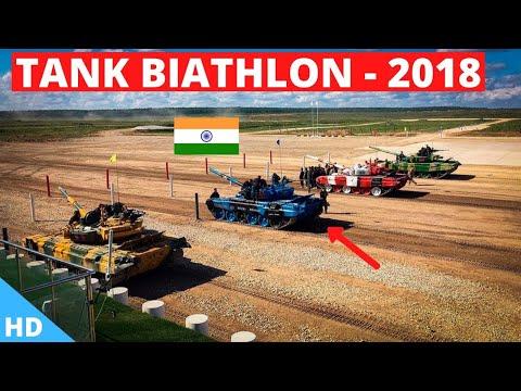 🔴 INDIA Tank Biathlon 2018 \'Semi Finals\' : International Army Games 2018