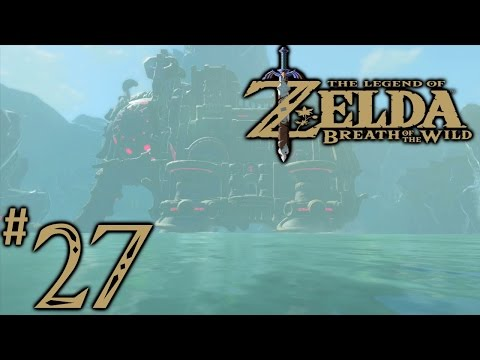 Zelda Breath Of The Wild Playthrough Part 27: Divine Beast Vah Ruta (Full Dungeon)