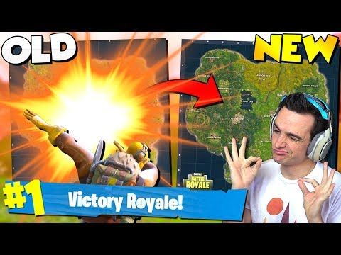 LAST Win *EVER* On The Old Map In Fortnite!!