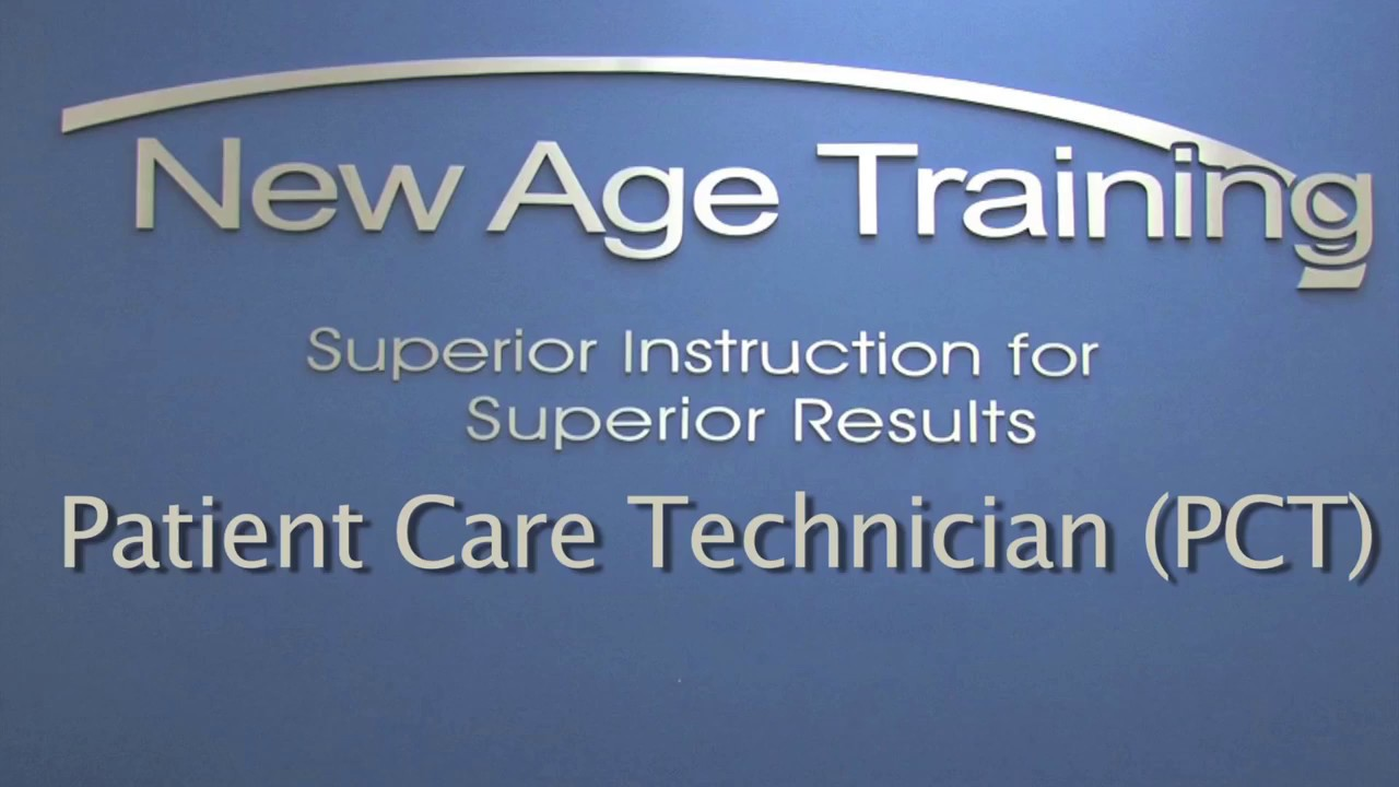 Patient Care Technician New Age Training