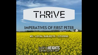 THRIVE - LOYAL SUBJECTS - CITIZENS - Message #5 - Jul 5