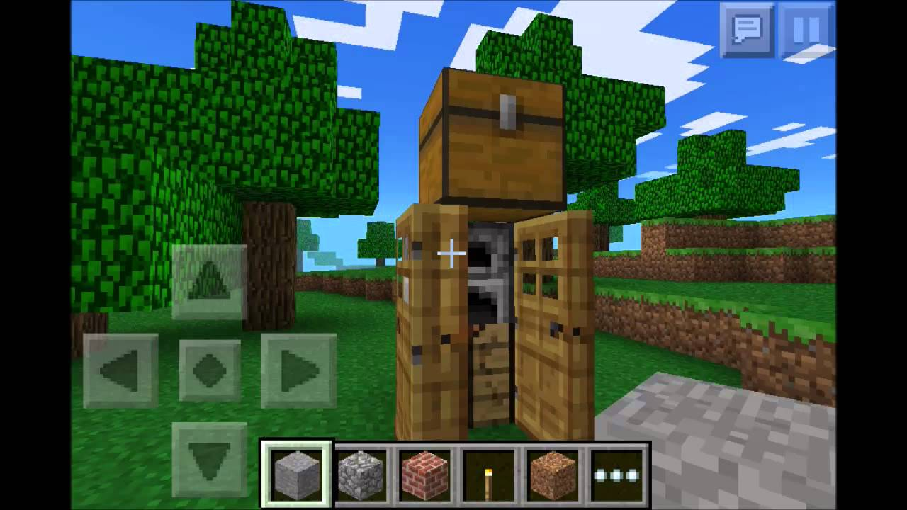 Perfect Minecraft Pocket Edition | Chicken Farm + Smallest House Ever!