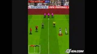 FIFA Soccer 2004 N-Gage Gameplay