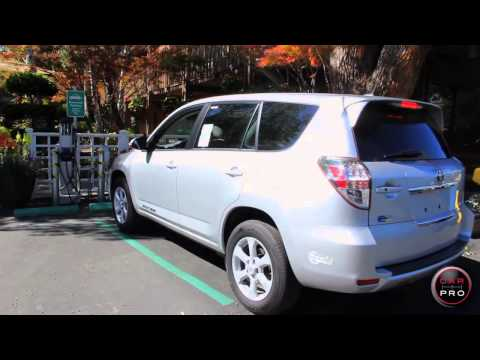 2013 Toyota Rav4 EV Review & Test Drive by Pamela Woon for Car Pro News 720p