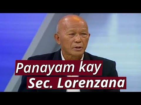 SONA: Panayam kay Defense Secretary Delfin Lorenzana