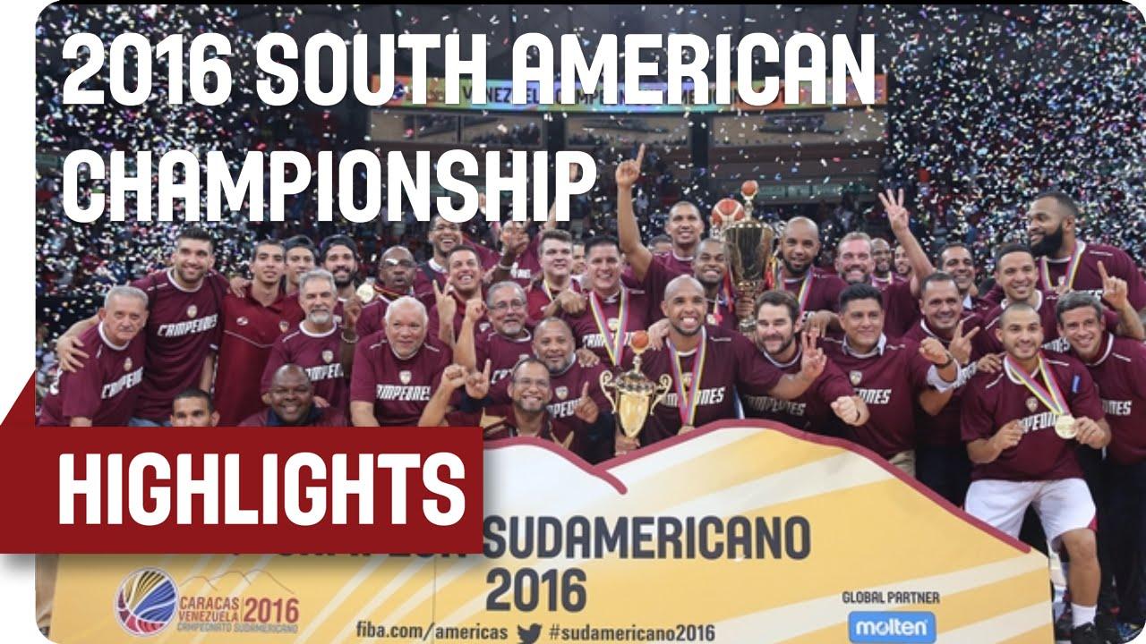 Venezuela v Brazil - Game Highlights - Gold-Medal Match - 2016 FIBA South American Championship