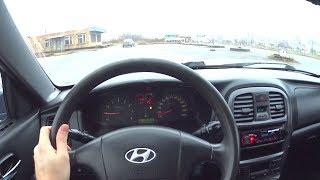 2007 Hyundai Sonata 4 ТагАЗ 2.0 POV Test Drive