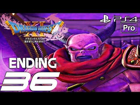 DRAGON QUEST XI - Gameplay Walkthrough Part 36 - Final Boss & Ending (PS4 PRO)