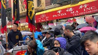 NYC LIVE Chinese New Year 2020 in Chinatown, Manhattan