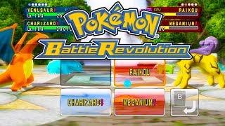 THE BEST HD POKEMON GAME EVER!! - Pokemon Battle Revolution
