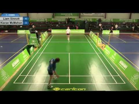 F - O50MS - Liam Sinnott v Kieran McMahon - Masters Open