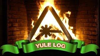 Nerdist Laser Yule Log - YouTube Fireplace thumbnail